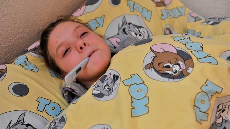 Kinder sind in dieser Saison von der Grippe am stärksten betroffen.