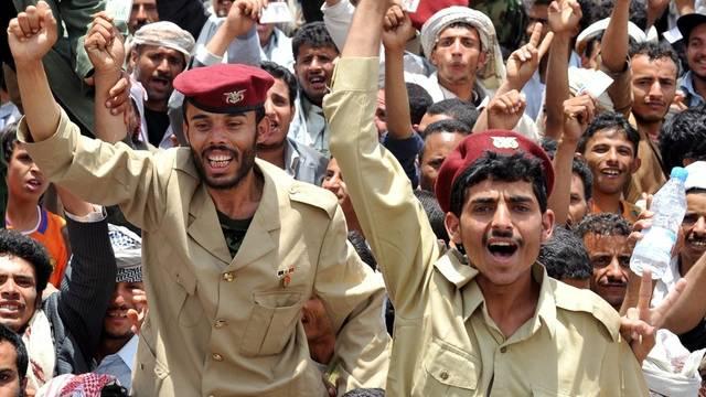 Die Proteste in Jemens Hauptstadt Sanaa dauern an
