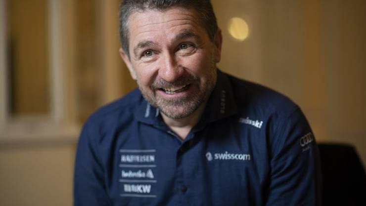 Beat Tschuor, Cheftrainer der Schweizer Frauen.