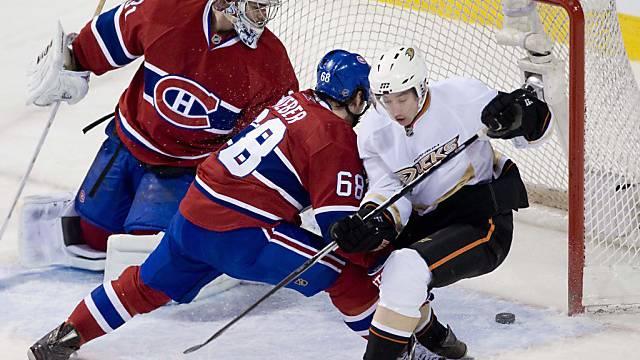 Yannick Weber verbuchte für die Canadiens erneut einen Assist