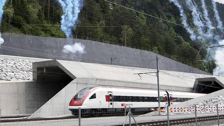 Eröffnung des Gotthard-Basistunnel