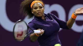 Serena Williams ist wieder an der Spitze angelangt