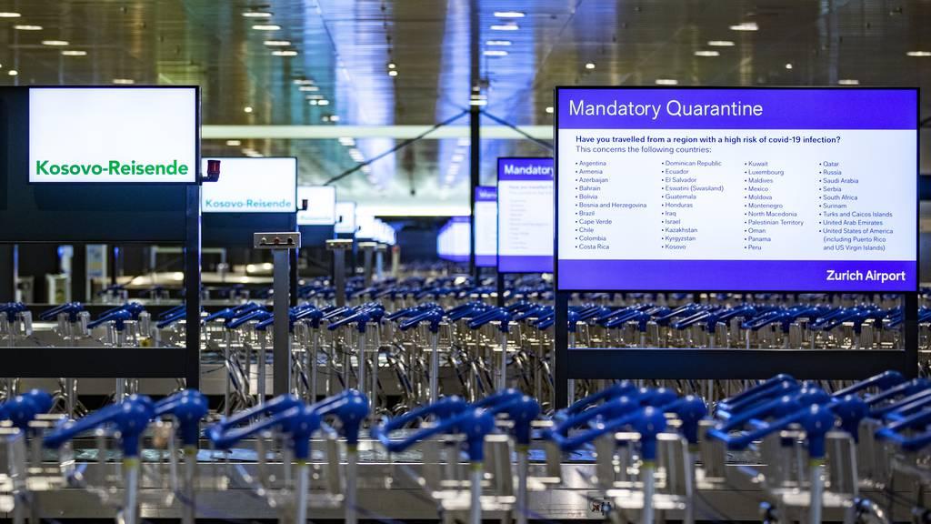 Quarantäne-Flucht: Jugendliche am Flughafen gestoppt