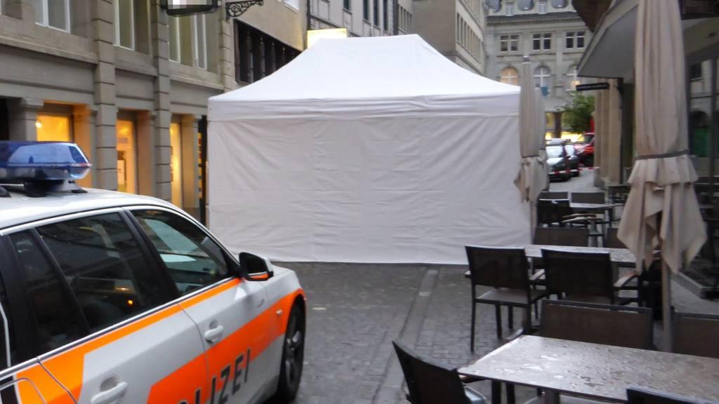 Der Tatort an der Webergasse 12 in St.Gallen.