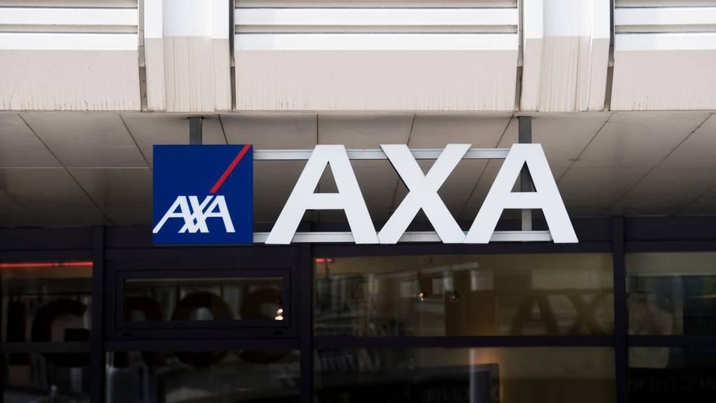 Axa Schweiz vermeldet einen Gewinneinbruch