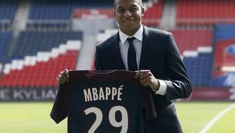 Erstes Spiel, erstes (wichtiges) Tor: Der neue PSG-Star Kylian Mbappé