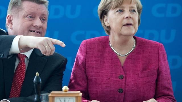 Die Uhr tickt für die deutschen AKW - Merkels Regierung hat den Atomausstieg beschlossen (Archiv)
