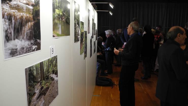 Eine zusätzliche Ausstellung war dem Chräbsenbach gewidmet