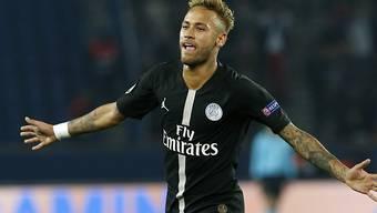 Überragend: Neymar schoss für PSG drei Tore