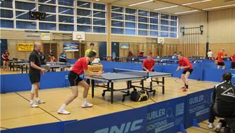 Spannende Duelle an den Aargauer-Tischtennis-Meisterschaften 2013/2014