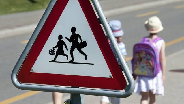 Konzept für mehr Sicherheit von Basler Schulkindern. (Symbolbild)