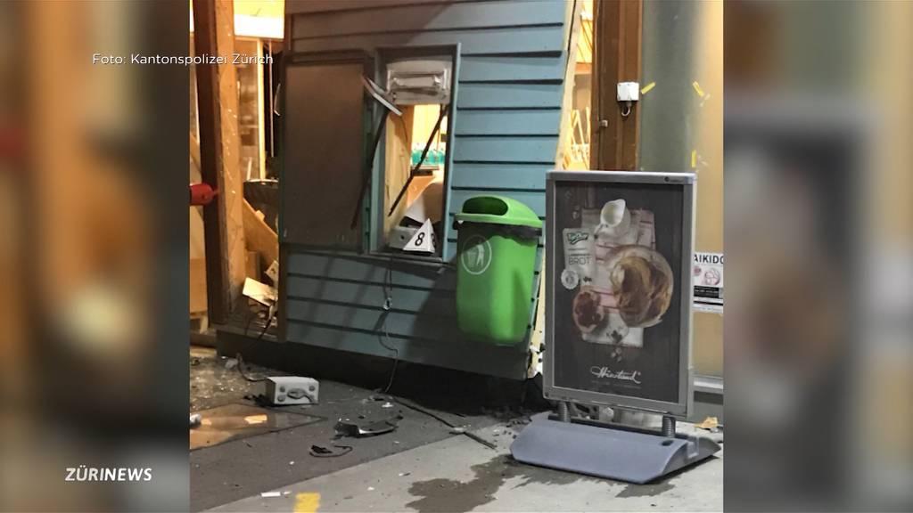 Bankomat gesprengt: Mehr Sachschaden als Diebesbeute in Neftenbach