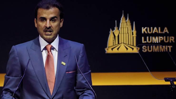 Scheich Tamim bin Hamad Al Thani, der Emir von Katar.