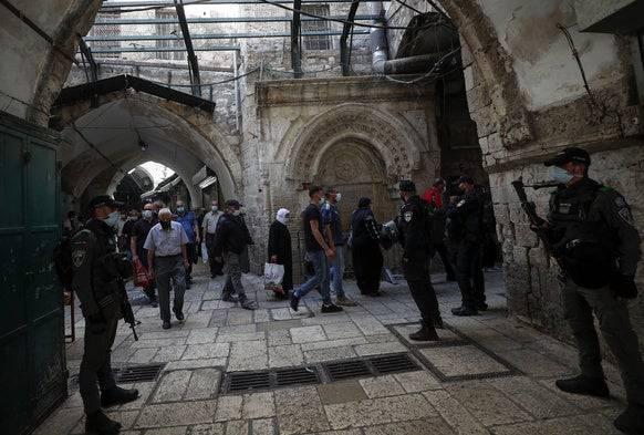 In der Altstadt Jerusalem kehrt der Betrieb langsam wieder zurück. (Bild: Keystone)