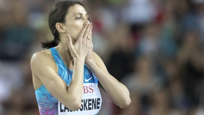 Die dreifache Hochsprung-Weltmeisterin Maria Lasizkene belastet in ihrem Instagram-Post Russlands Verbandsfunktionäre