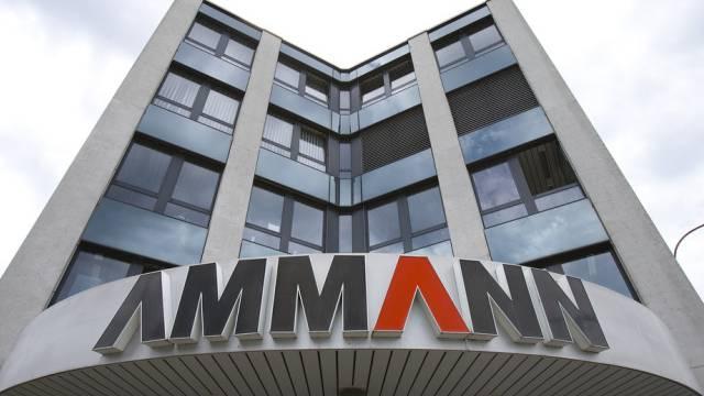 Hauptsitz der Ammann-Guppe in Langenthal (Archiv)