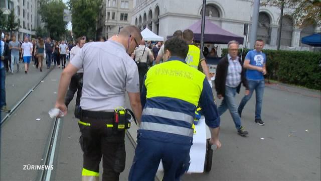 500 Rettungskräfte sind jederzeit bereit