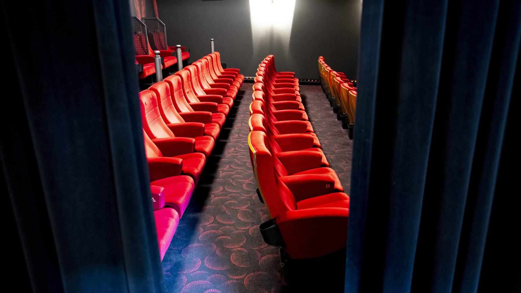 Leere Zuschauerränge: die Kino- und Theaterbranche fordert weitere Unterstützungen.