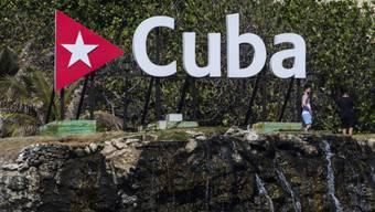 Im Garten des Hotels Nacional in Havanna (Aufnahmen vom April 2018).