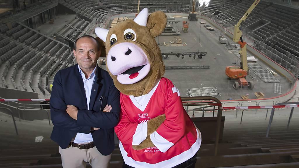 Eishockey-WM findet auch 2021 nicht in der Schweiz statt