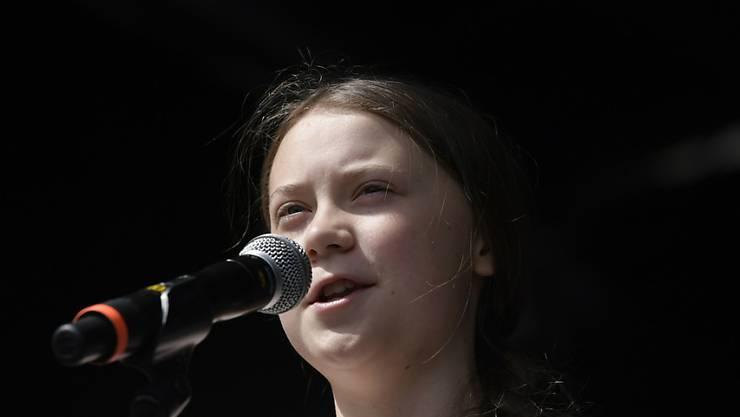 Die schwedische Klimaschutz-Ikone Greta Thunberg in Kopenhagen.