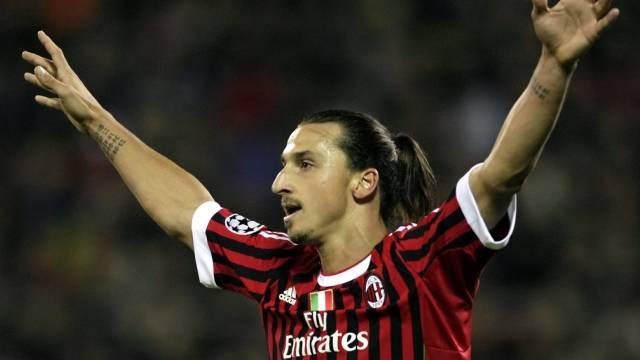 Milan ging dank Zlatan Ibrahimovic in Führung