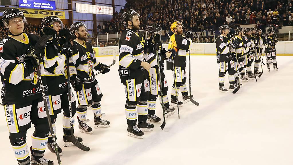 Kein Team in der Swiss League ist mehr ungeschlagen: Ajoie kassierte im 7. Spiel der Saison die erste Niederlage