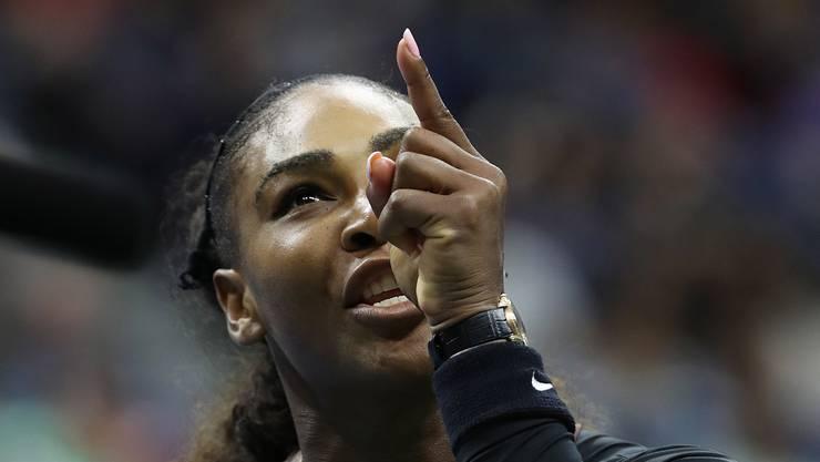 Serena Williams wirft dem Schiedsrichter Sexismus vor.