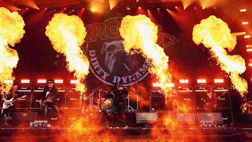 «Unvergessliche Erinnerungen» – Virgin Rock spielt das Krokus @ Wacken Konzert