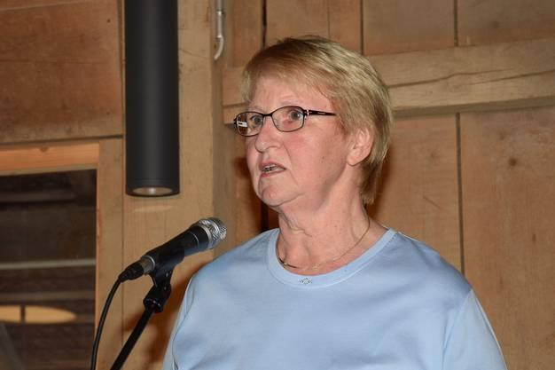 Elisabeth Wernli ist Präsidentin von Tanz & Kunst Königsfelden