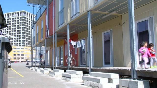 Gemeinsame Siedlung für Flüchtlinge und Studenten