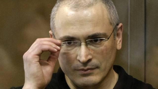 Michail Chodorkowski schreibt nun Kolumnen für eine Oppositionszeitung (Archiv)