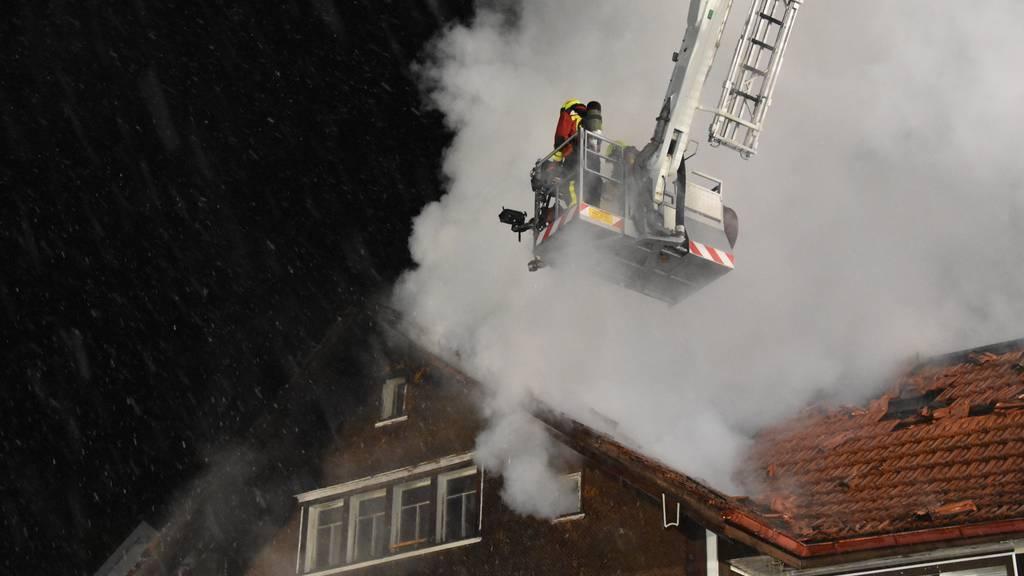 Nach Brand: Einwohner starten Spendenaktion