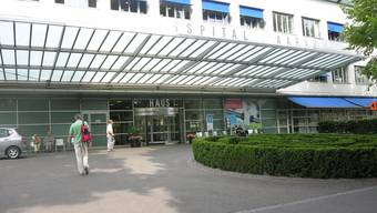 Das Kantonsspital Aarau.