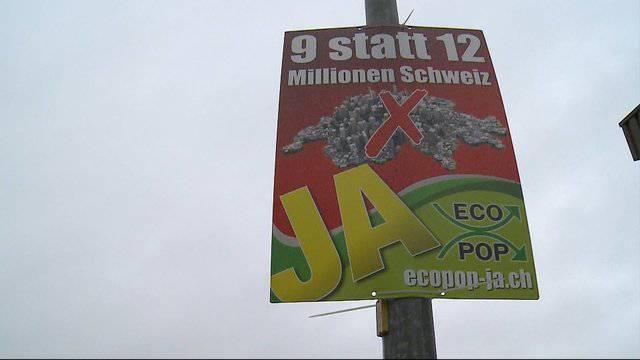 Läuft der Ecopop-Wahlkampf im Seetal noch?