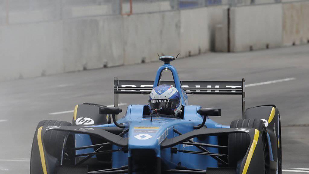 Zweiter Sieg im zweiten Rennen für Sébastien Buemi in der Formel E