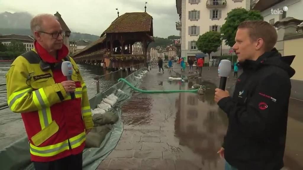 Hochwasser in der Schweiz
