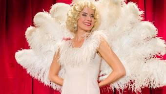Sabina Schneebeli als Olly Moreen (Bild Homepage Niederdorfoper)