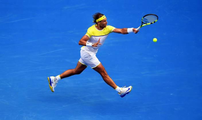 Rafael Nadal muss mehr reagieren als agieren