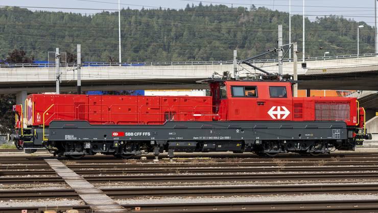 Die Aem 940 eignet sich für Rangierarbeiten aber auch für die Instandhaltung des Schienennetzes.