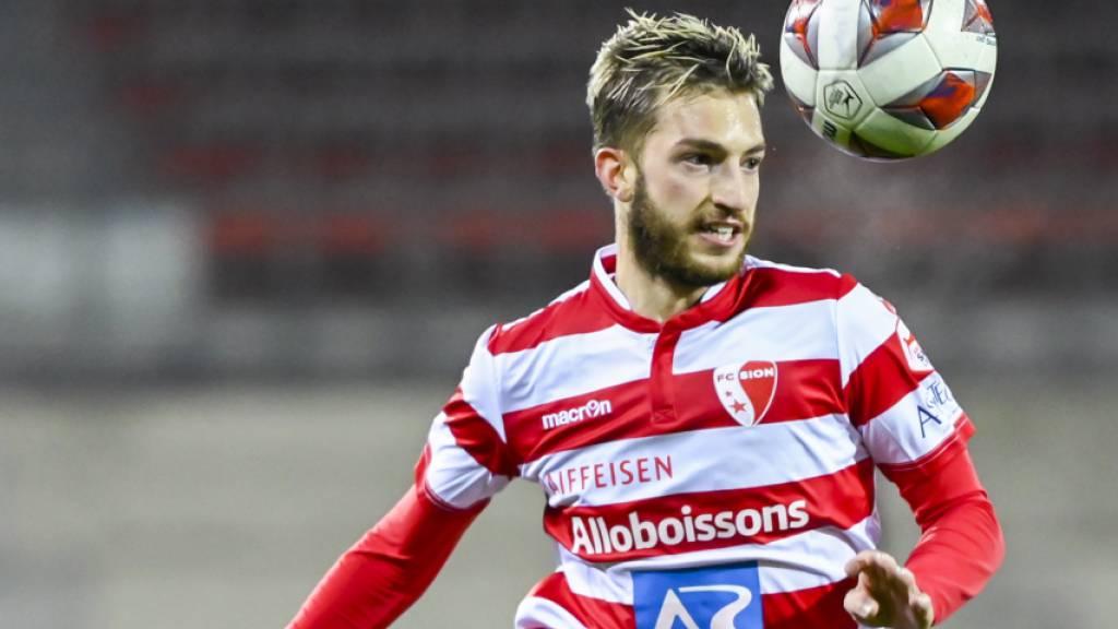 Luca Clemenza fehlt dem FC Sion viele Wochen