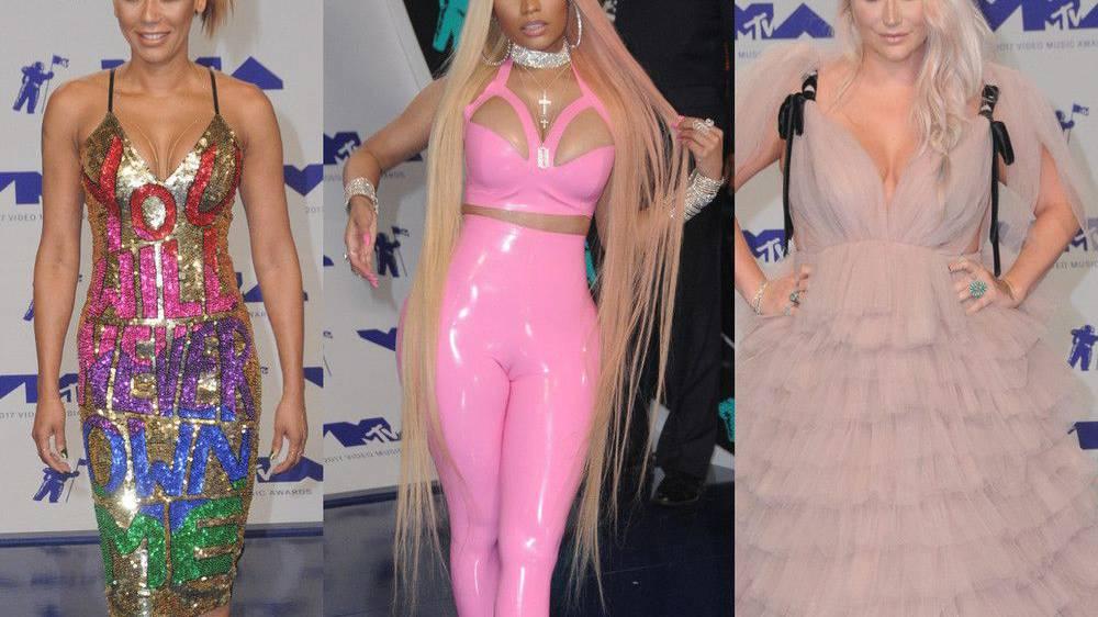 Die schlimmsten Outfits bei den VMAs