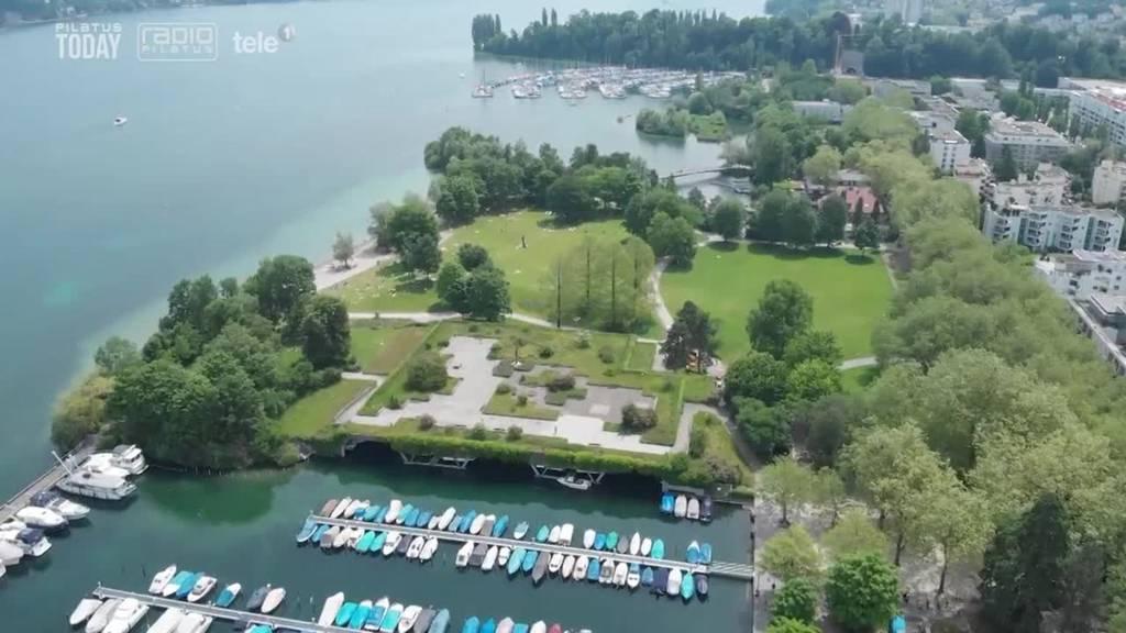 Luzerner Stadtrat lanciert sieben Projekte am linken Seeufer