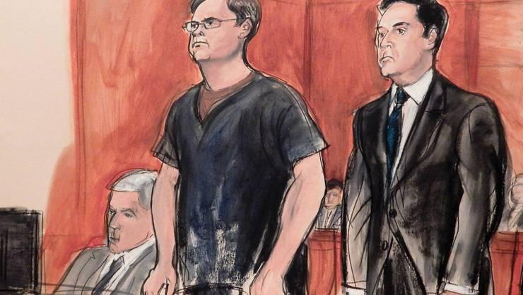 Spionierte für Russland in den USA: Ewgeni Burjakow (links) muss ins Gefängnis.