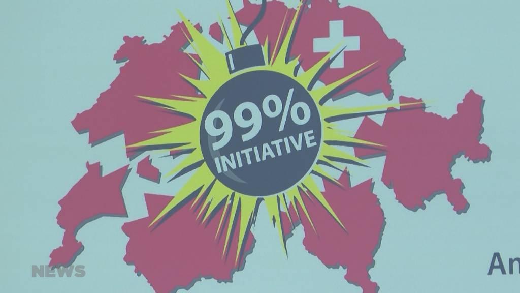 99%-Initiative trifft auf breitgefächerte Gegnerschaft