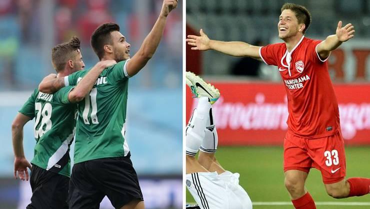 St. Gallen und Thun haben es in die Gruppenphase der Europa League geschafft