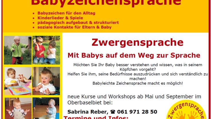 Neue Babykurse ab Mai und September 2017