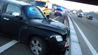 Autobahn Unfall in Wiedlisbach