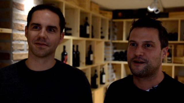 Reto Iten und Marco Züger von MeineWeine.ch über den neuen Showroom in Widen