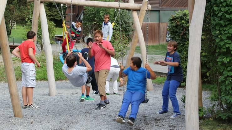 Heiss begehrt - der neue Spielplatz (3)